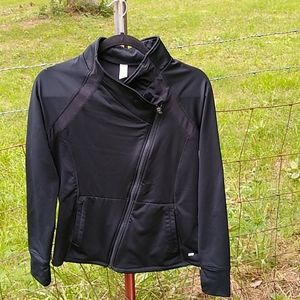 Marika running jacket size small Asymmetrical